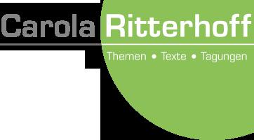 Carola Ritterhoff # Themen • Texte • Tagungen